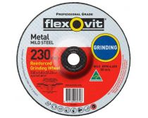 Flexovit Mild Steel Grinding Wheel 230 x 6.8 x 22.2mm