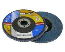 Flap Disc Metal Mega-Line Blue Zirconia Flexovit