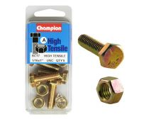 Champion Setscrews & Nuts 5/16x1 UNC Gr5 ZP (Pack 5)