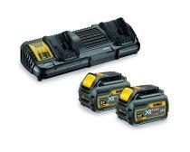 DeWalt XR Flexvolt Battery & Charger Starter Pack 6AH