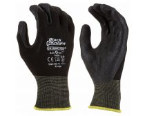 Maxisafe Black Knight Nylon Nitrile Gloves Large (SIZE 09)