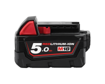 Milwaukee M18 Red Lithium 5.0AH Battery Pack
