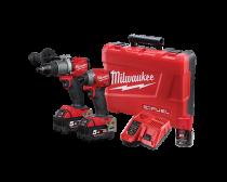 Milwaukee 18V 5.0Ah Li-Ion Cordless GEN 3 Fuel 2 Piece Combo Kit