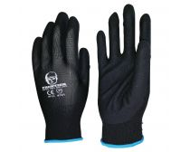 Beaver Frontier Glove Black Nitrile Sand Finish Size M