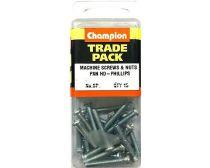 Champion Pan x Machine Screw Pack 6 x 16mm