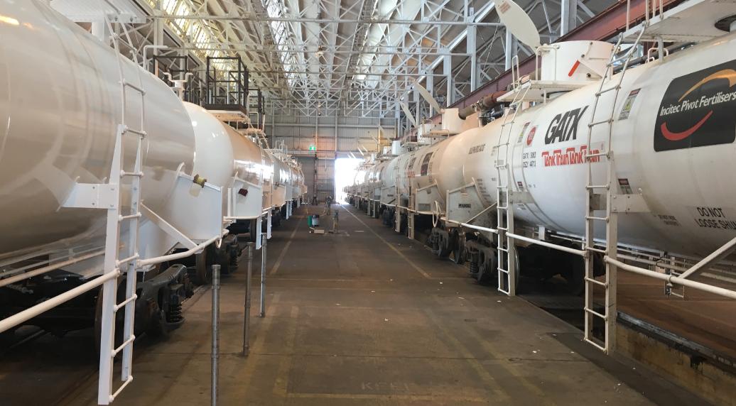 Solution Case Study: Wulguru Rail and Incitec Pivot partner with Konnect for the GATX Wagon Re-line